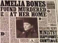 Amelia Bones Harry Potter - PotterPedia.it