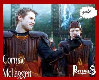 Cormac McLaggen Harry Potter - PotterPedia.it