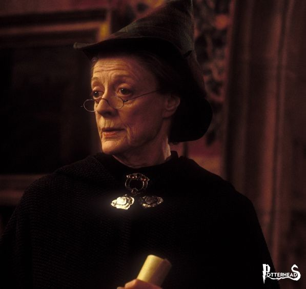 Minerva McGranitt Harry Potter - PotterPedia.it