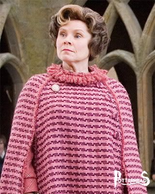 Dolores Umbridge Harry Potter - PotterPedia.it