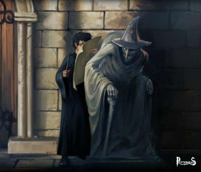 Statua della Strega Orba Harry Potter - PotterPedia.it