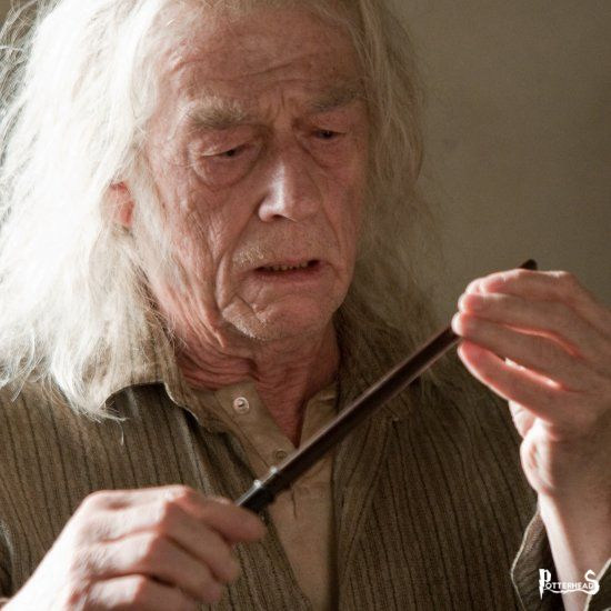 Garrick Olivander Harry Potter - PotterPedia.it