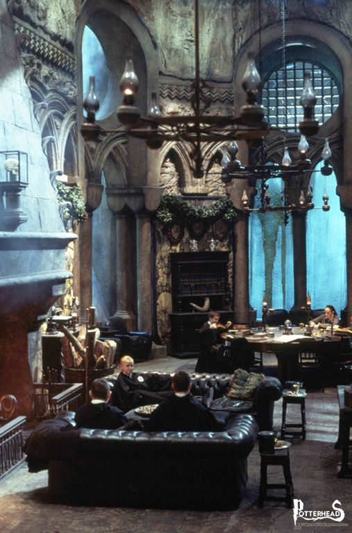 Sala Comune di Serpeverde Harry Potter - PotterPedia.it