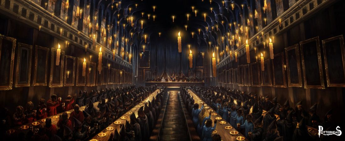 Sala grande su harry potter enciclopedia for Comedor harry potter