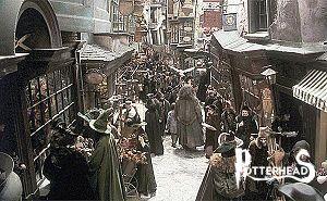 Diagon Alley Harry Potter - PotterPedia.it