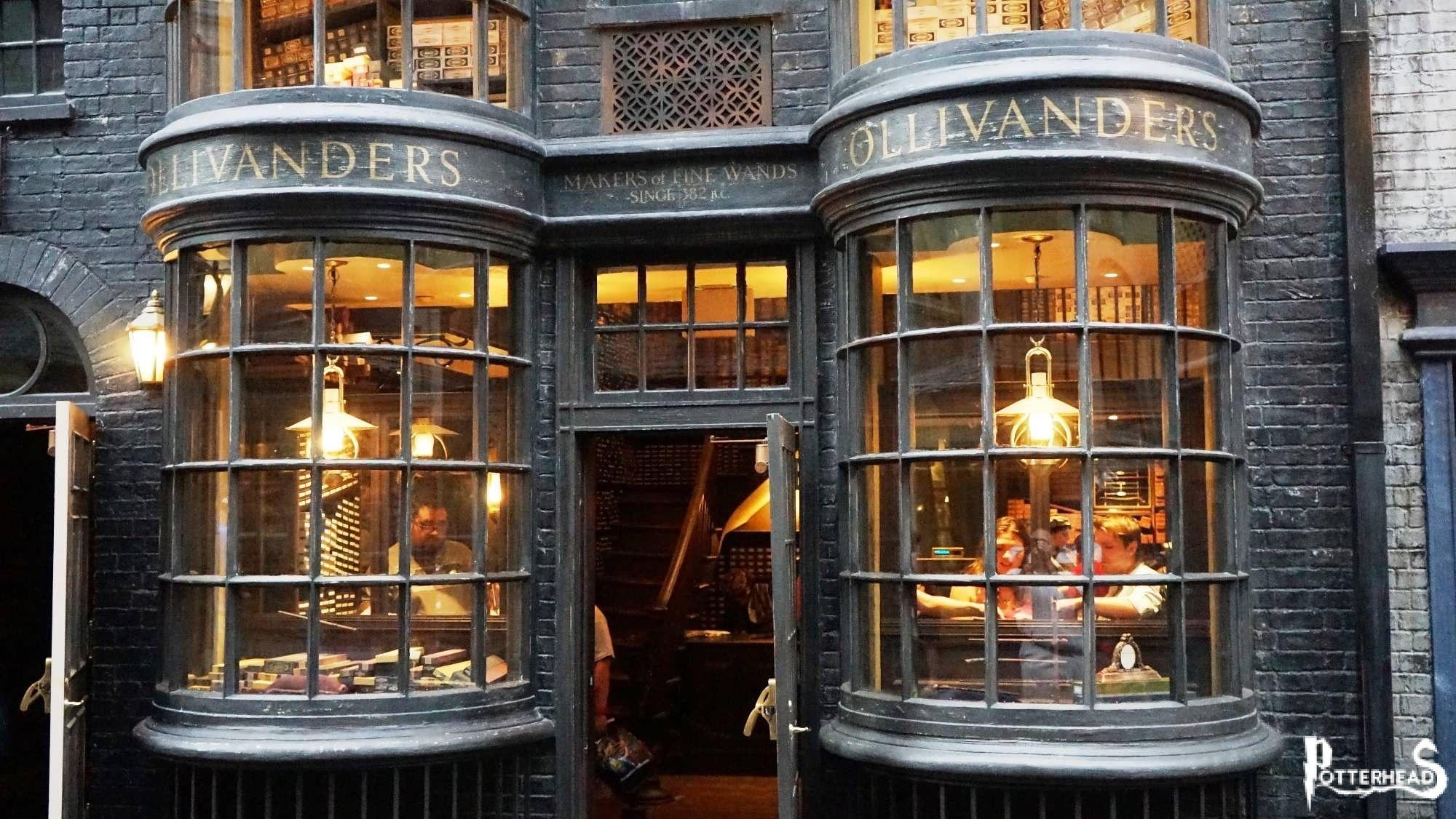 Olivander Harry Potter - PotterPedia.it