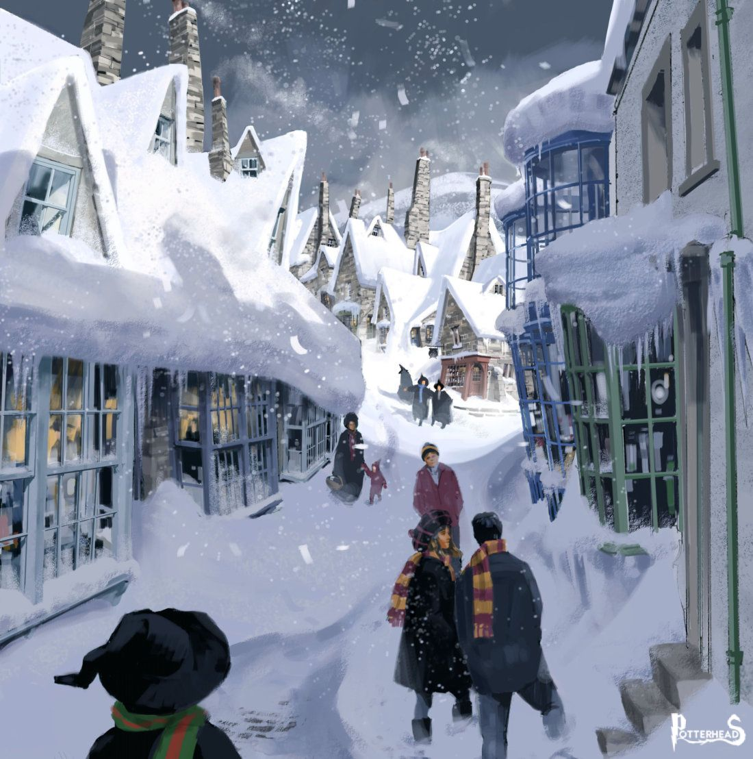 Hogsmeade Harry Potter - PotterPedia.it