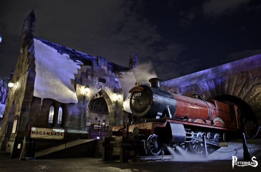 Stazione di Hogsmeade Harry Potter - PotterPedia.it