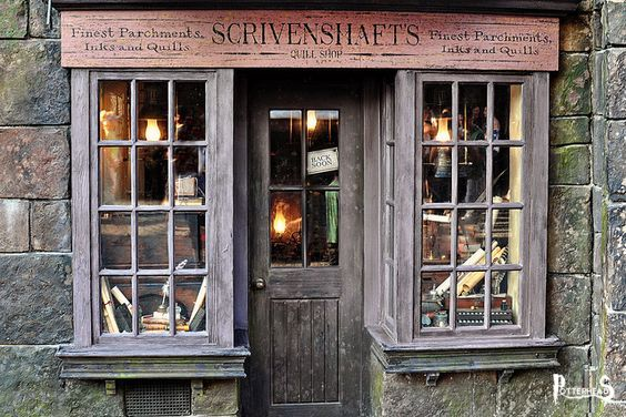 Cartoleria Scrivenshaft Harry Potter - PotterPedia.it