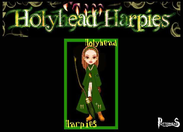Holyhead Harpies Harry Potter - PotterPedia.it