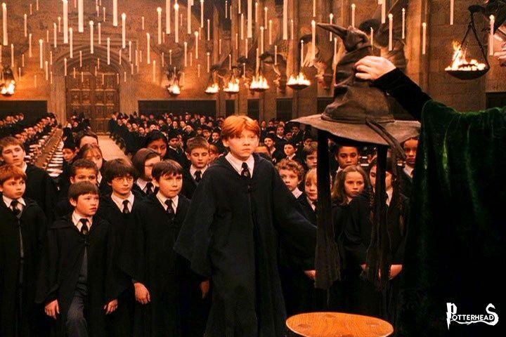 Cerimonia dello Smistamento Harry Potter - PotterPedia.it
