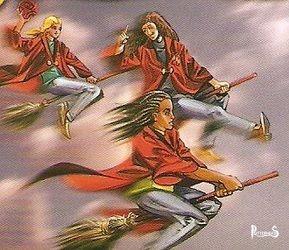 Formazione d'attacco Testadifalco Harry Potter - PotterPedia.it