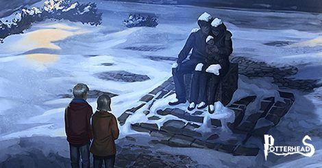 Statua in ricordo della famiglia Potter Harry Potter - PotterPedia.it