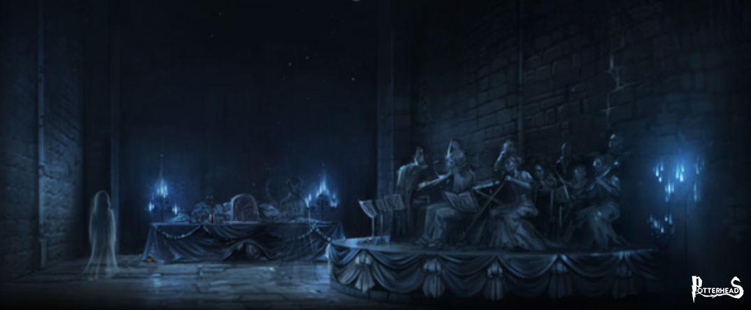 I Fantasmi di Hogwarts e il Velo By Caleel Harry Potter - PotterPedia.it