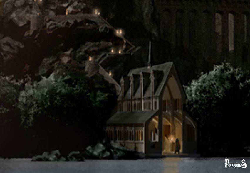 Rimessa per le barche Harry Potter - PotterPedia.it