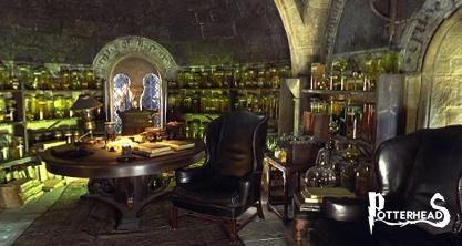 Ufficio del Direttore della Casa di Serpeverde Harry Potter - PotterPedia.it
