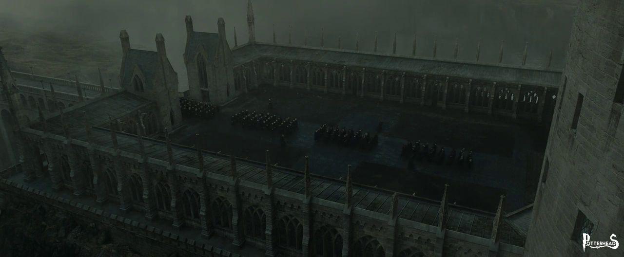 Cortile del viadotto Harry Potter - PotterPedia.it