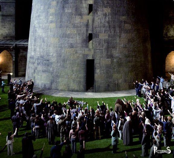 Cortile di Trasfigurazione Harry Potter - PotterPedia.it