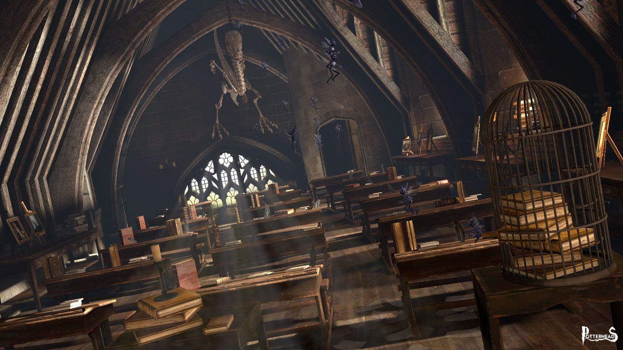 Aula di Difesa Contro le Arti Oscure Harry Potter - PotterPedia.it