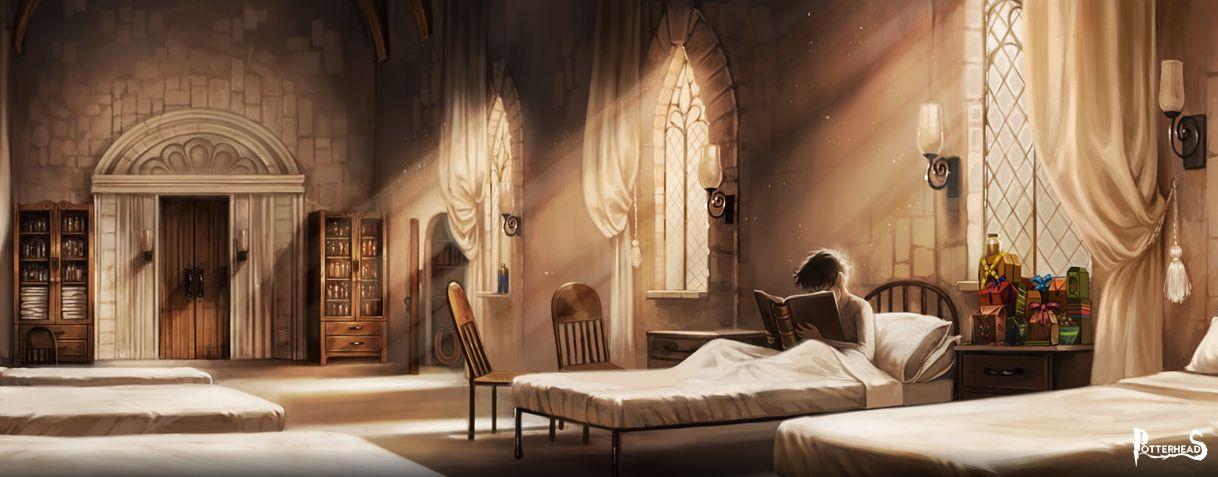 Infermeria Harry Potter - PotterPedia.it
