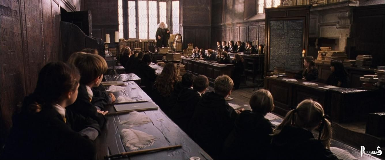 Aula di Incantesimi Harry Potter - PotterPedia.it