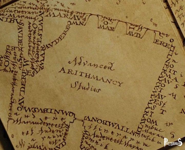 Aula di Aritmanzia Avanzata Harry Potter - PotterPedia.it