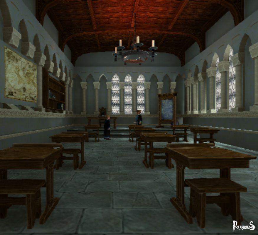Aula 1A Harry Potter - PotterPedia.it