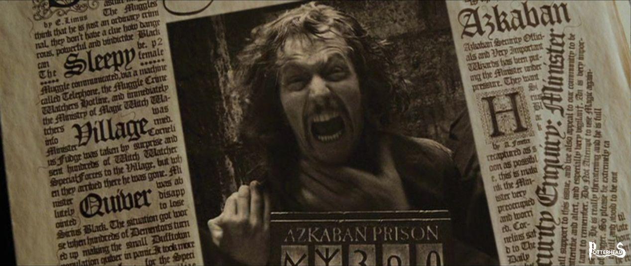 Articolo Gazzetta del Profeta 1993: Black ancora Latitante Harry Potter - PotterPedia.it