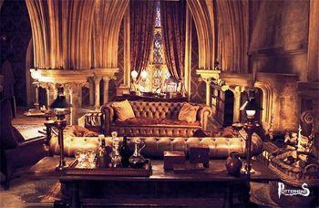 Ufficio del professor Lumacorno Harry Potter - PotterPedia.it