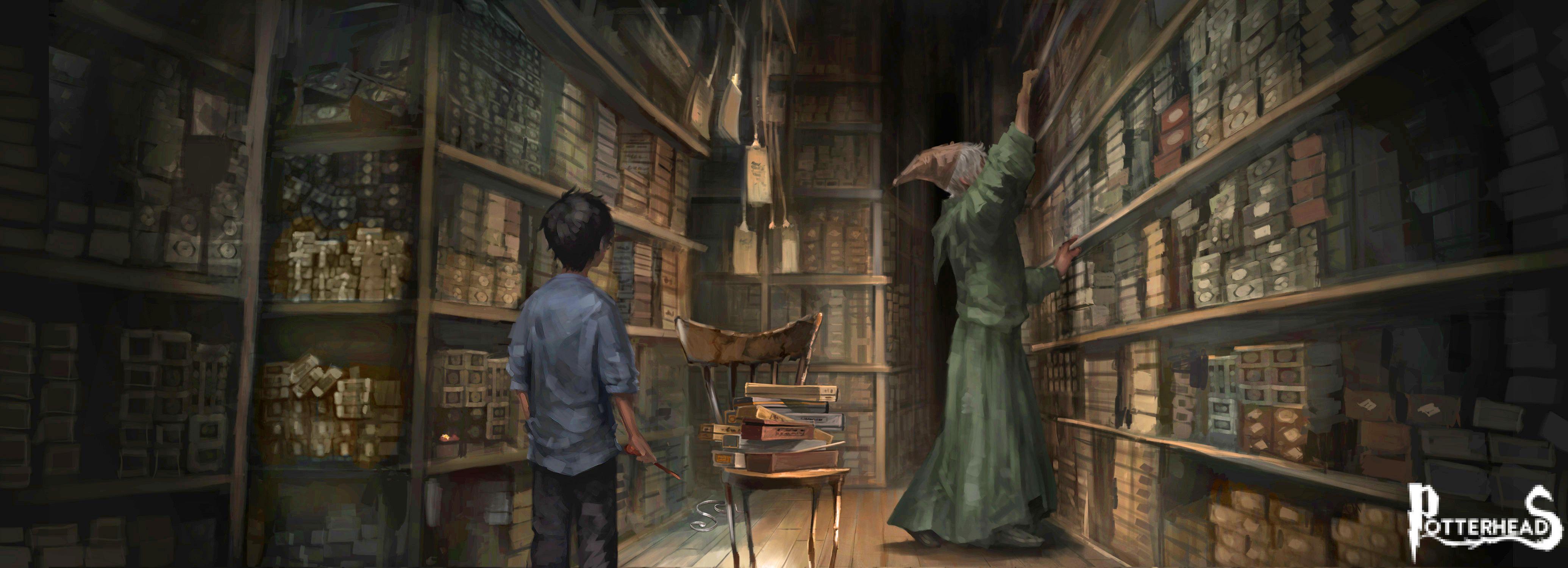 5 cose che abbiamo imparato dal saggio Signor Ollivander Harry Potter - PotterPedia.it