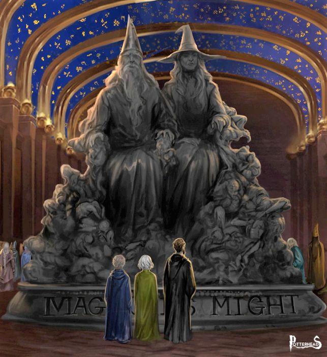 Statua La Magia � Potere Harry Potter - PotterPedia.it