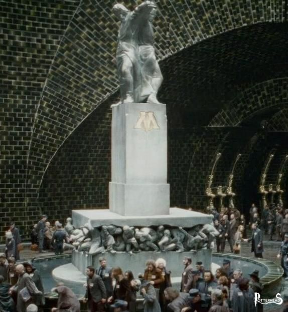 Statua La Magia � Potere Harry Potter - PotterPedia.it
