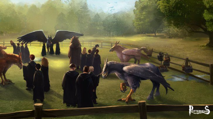 Guida di Pottermore sugli Ippogrifi Harry Potter - PotterPedia.it