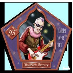 Heathcote Barbary Harry Potter - PotterPedia.it