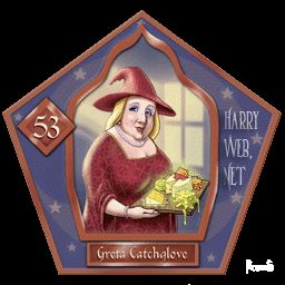 Greta Catchlove Harry Potter - PotterPedia.it