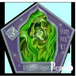Elfrida Clagg Harry Potter - PotterPedia.it