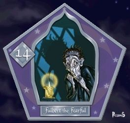 the Fearful Fulbert Harry Potter - PotterPedia.it