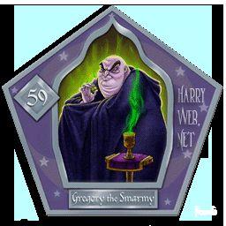 Il Viscido Gregory Harry Potter - PotterPedia.it