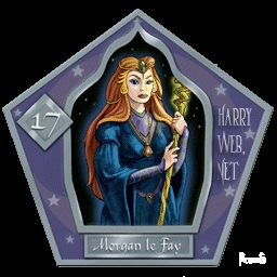 Morgan le Fey Harry Potter - PotterPedia.it